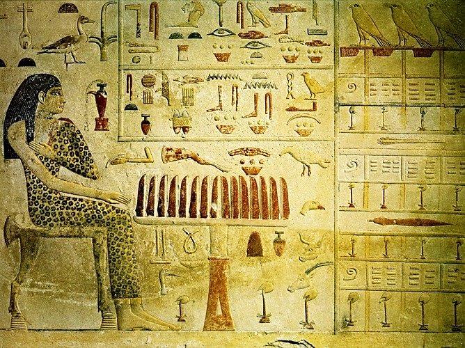 Барельефы Египта