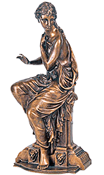 Скульптурная статуэтка «Сусанна»