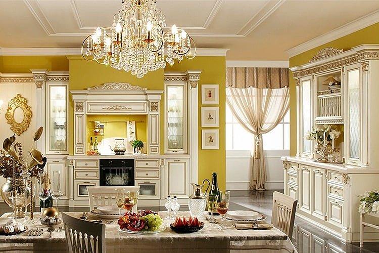 Кухня в стиле Ренессанс