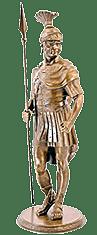 Скульптурная статуэтка «Римский воин»