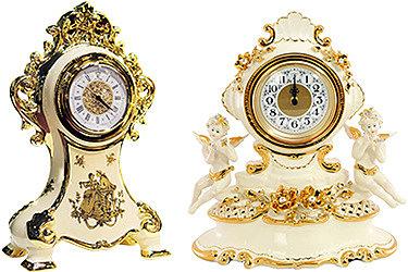 Настольные часы в стиле Барокко
