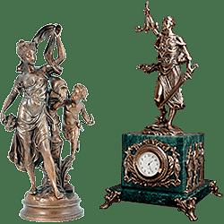 Бронзовые скульптуры (художественное литьё)