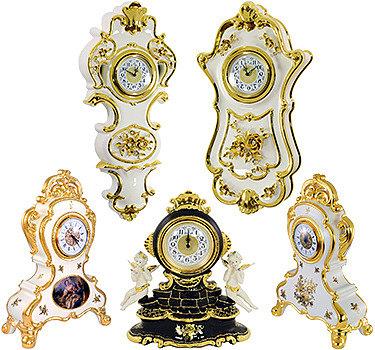Часы в стиле Рококо