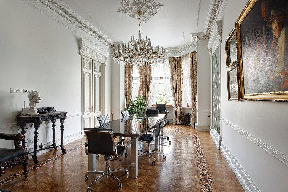 Интерьер кабинета в стиле Классицизм