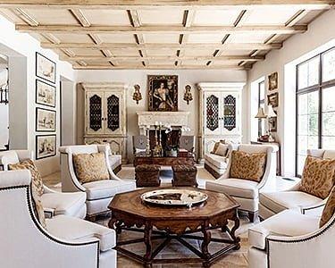 Римский стиль интерьера
